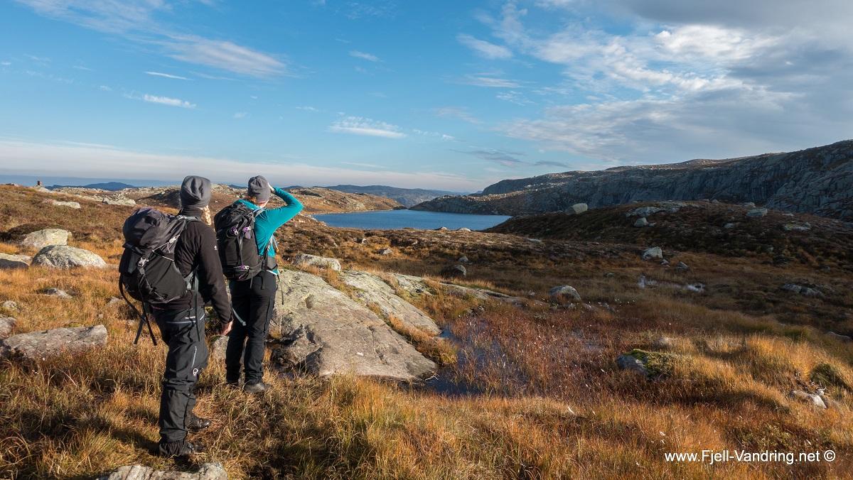 Store Skykula - Fra Skineldvatnet til Vassbø