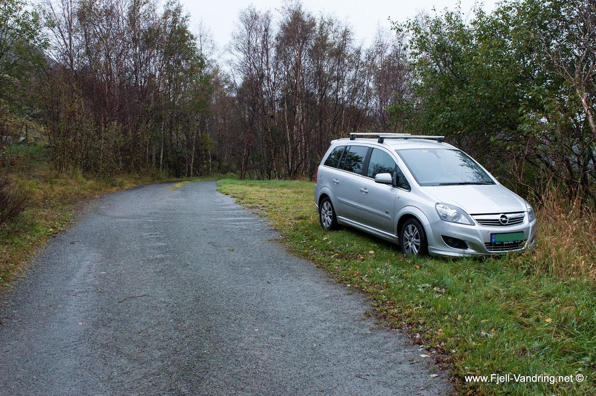 Ulvarudlå - Parkering