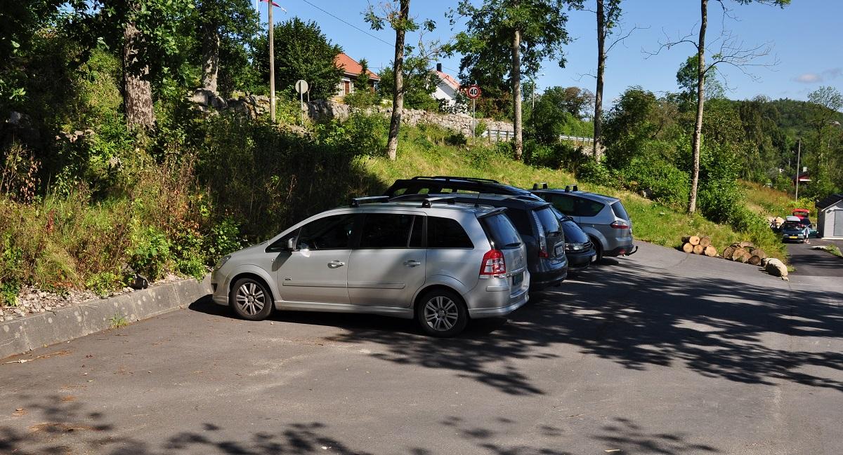 Vårlivarden - Parkering med Nodhagen turisthytte i Sandnes kommune