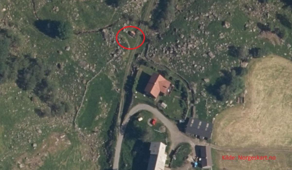 Kviknuten, Asgautsvardene og Eldsknuten - Parkering på Røysland