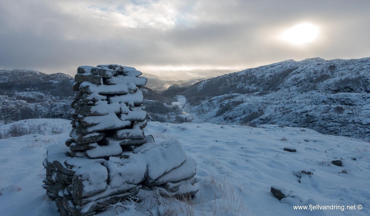 Kviknuten, Asgautsvardene og Eldsknuten - Flott utsikt