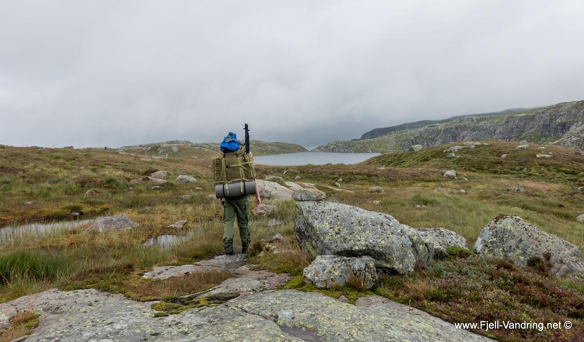 Bjørnvatnet - Et flott sted å telte