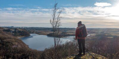 Blåfjellet - Topp og rundtur igjennom den trolske lia