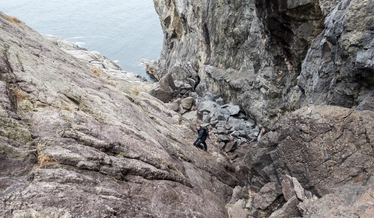 Brufjellhålene - En klatretur ned til Brufjellhålå
