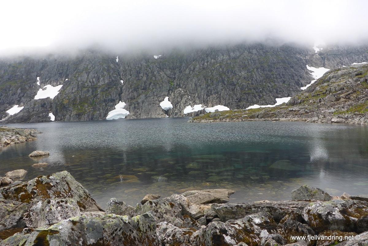Dalmannshornet - Krystallklart fjellvann