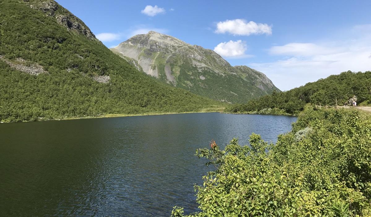 Den Trondhjemske postvei - Herdalsvatnet