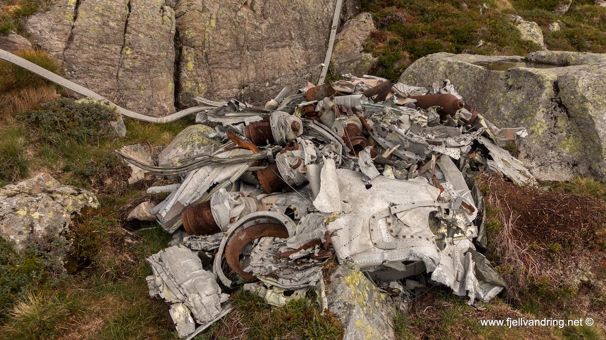 Flyvraket ved Fannafjellet