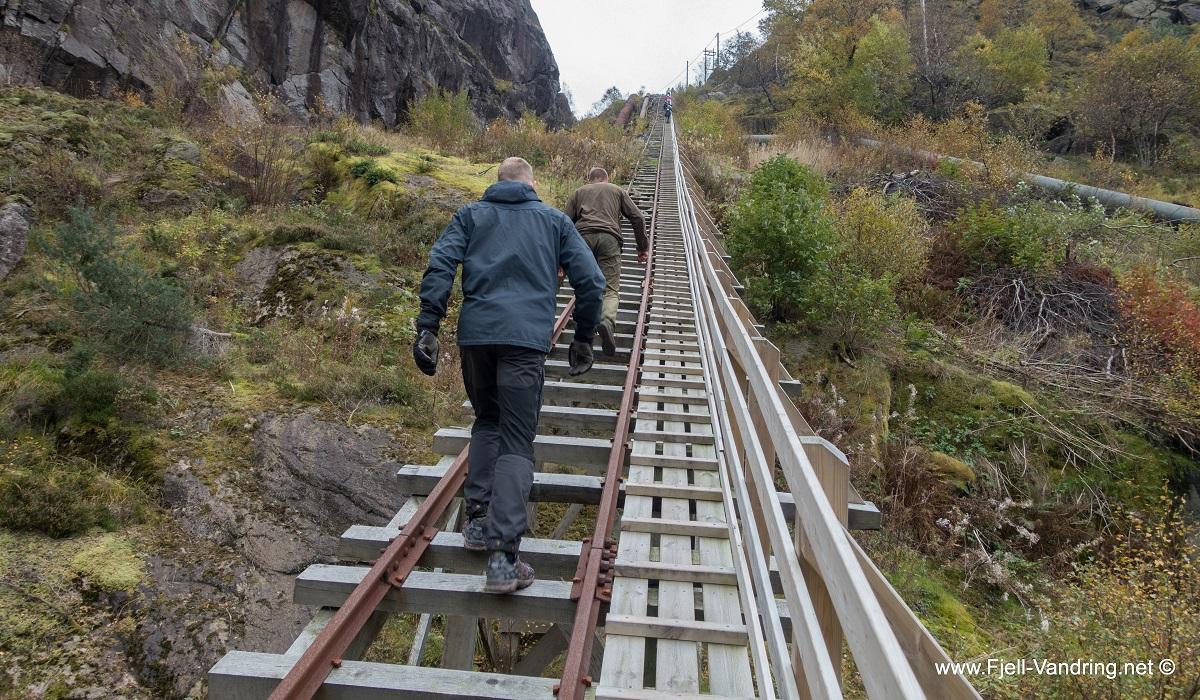 Fladen - Trapp etter trapp