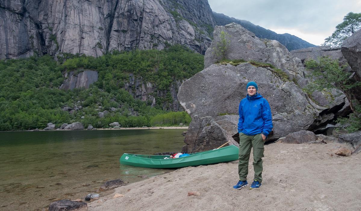 Gloppedalsura - Kjekk padle- og telttur