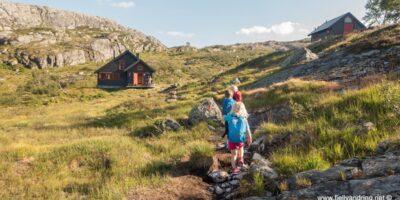 Grautheller turisthytte - Sykkelveien fra Ådneram
