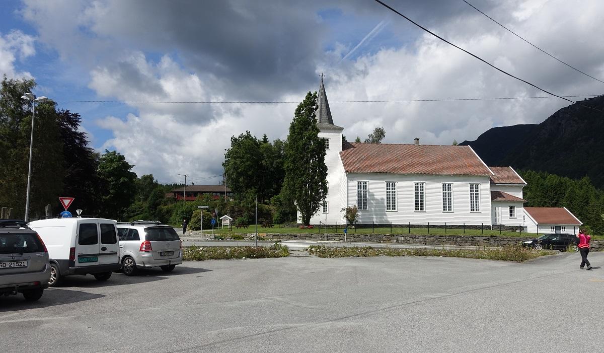 Himakånå - Parkering ved Joker på Hinderåvåg / Nedstrand i Tysvær kommune.