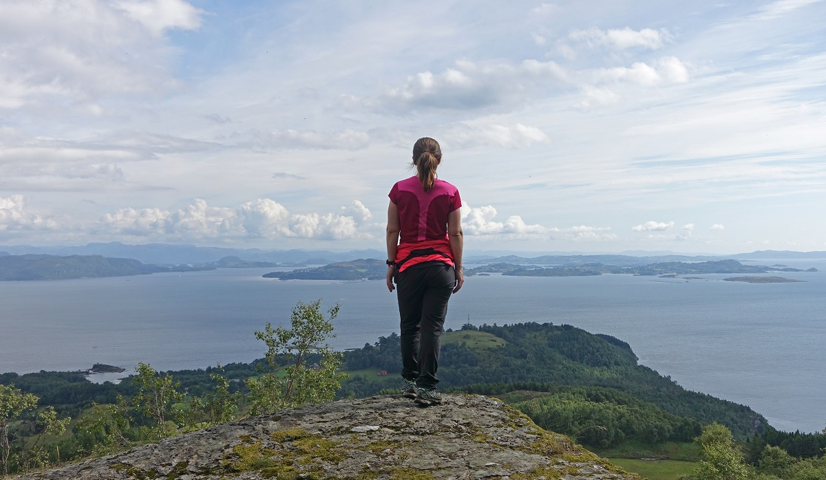 Himakånå - Flott utsikt utover Jelsafjorden