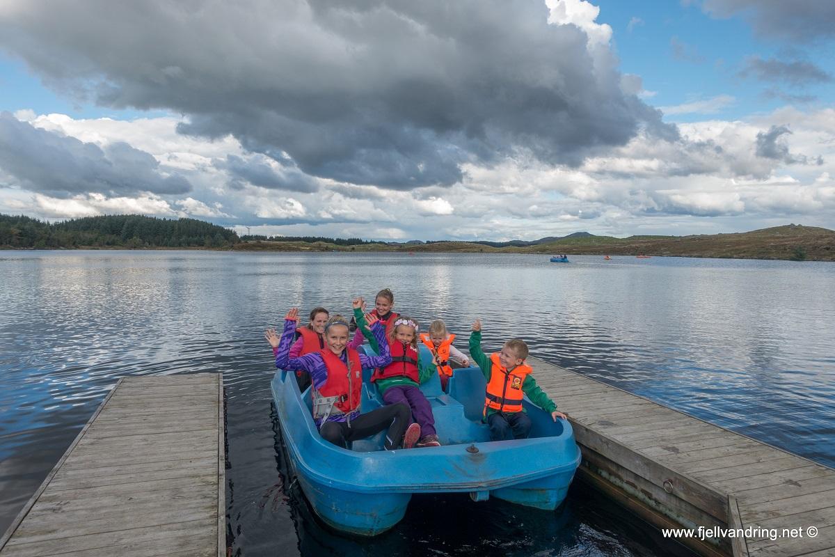 Familiearrangement September 2017 - Lek og aktiviteter ved Holmavatnet (Gjennomført)