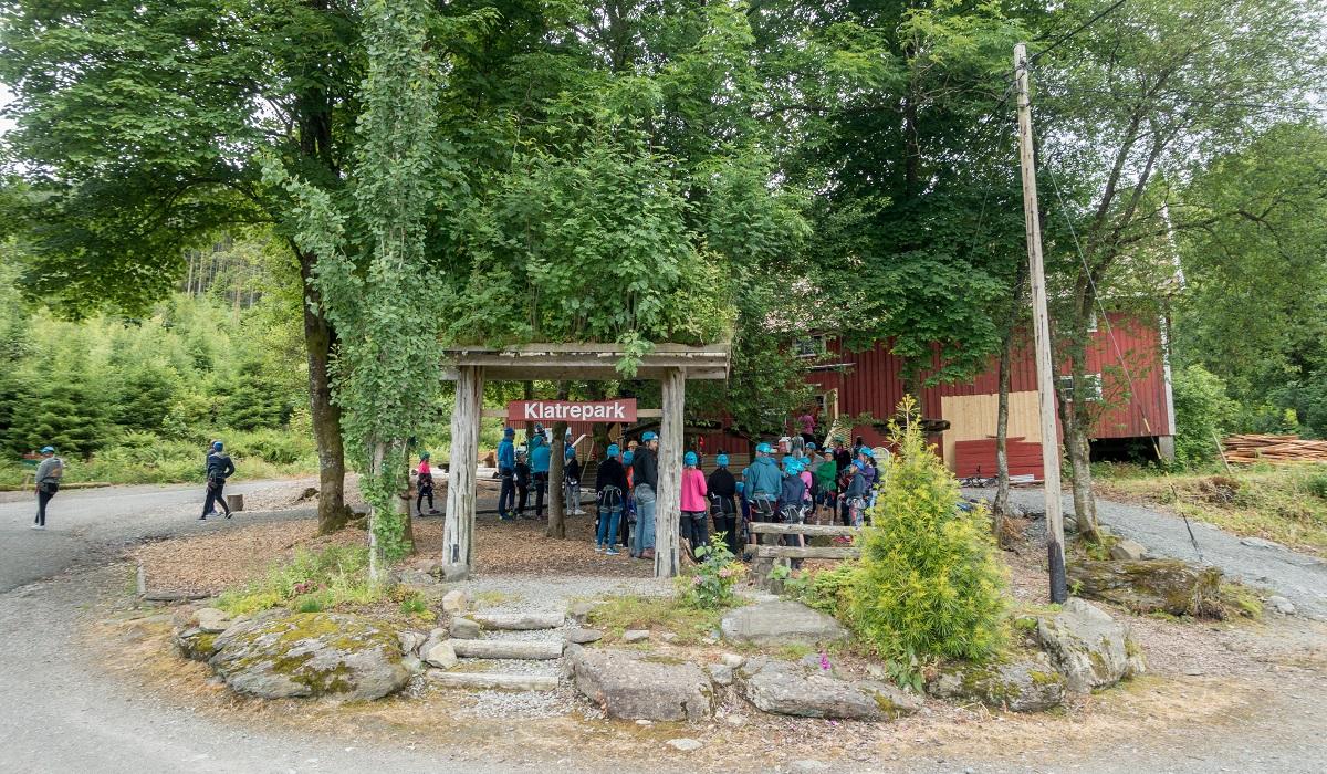 Høyt & Lavt Klatrepark - Nedstrand