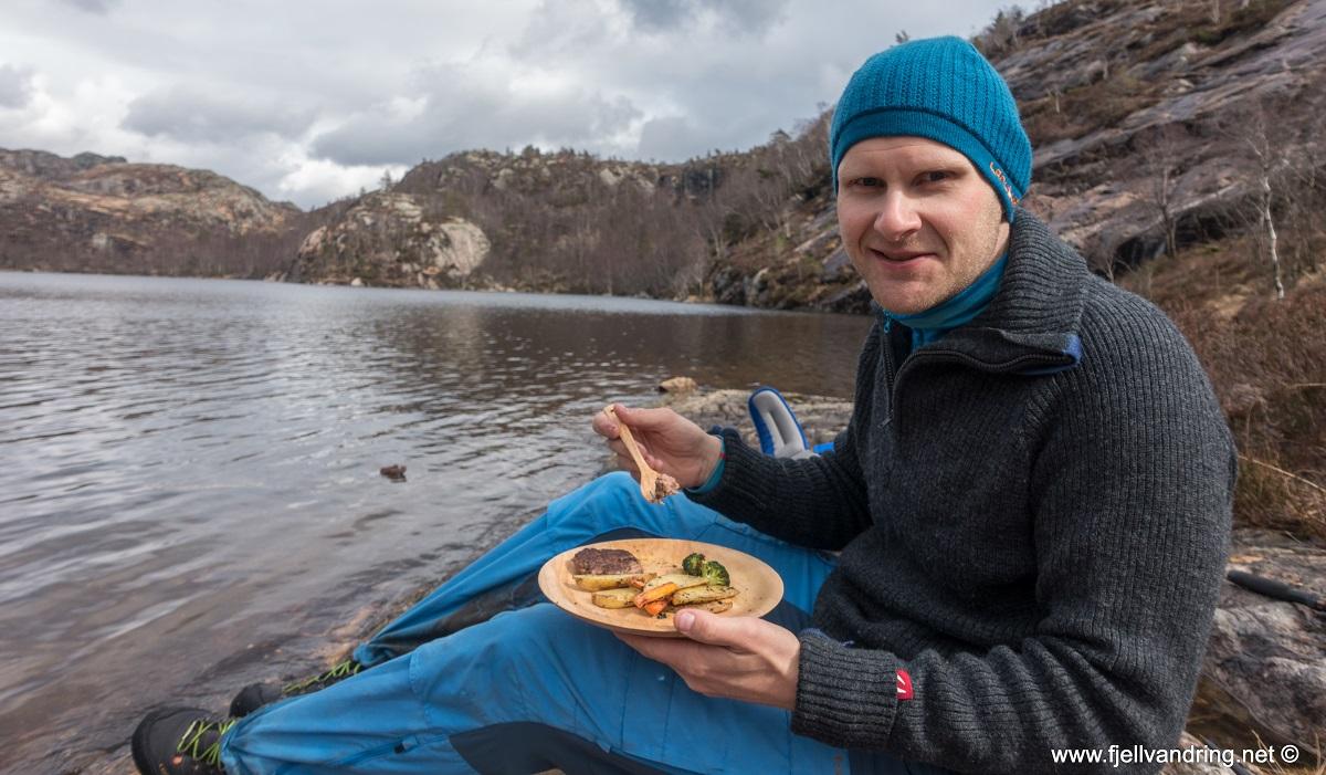Jegningsknuten - Kjell Arild gleder seg til karbonader med rådyrkjøtt