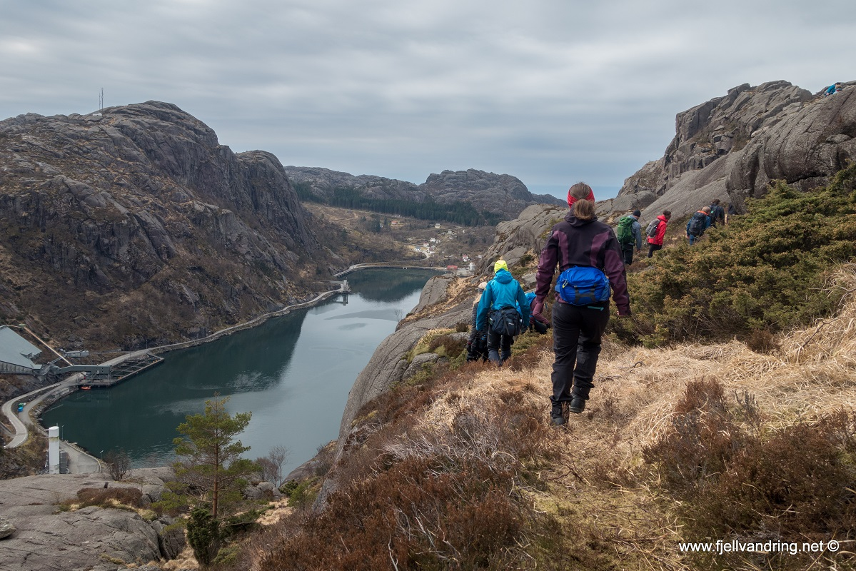 Jøssingfjord til Sogndalstrand