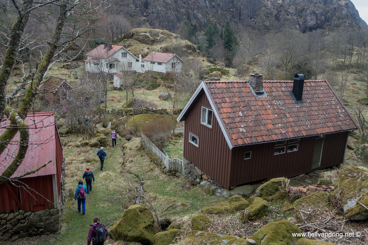 Jøssingfjord - Sogndalstrand - Knubedal