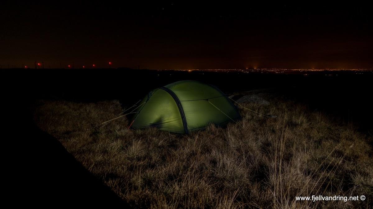 Kvernafjellet - Vi kommer frem i mørket