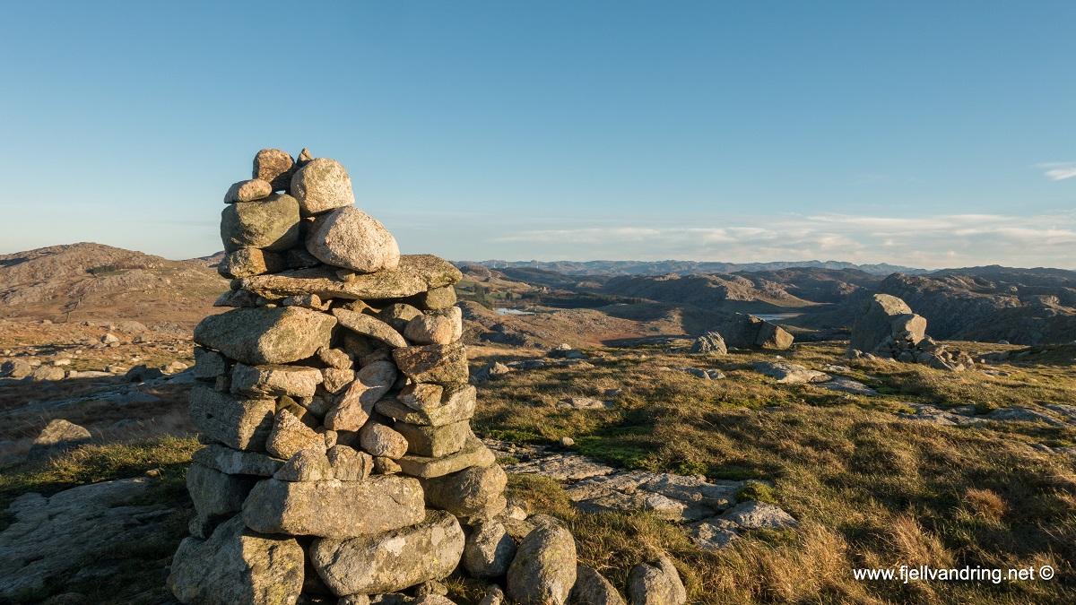 Kvernafjellet - God utsikt fra varden