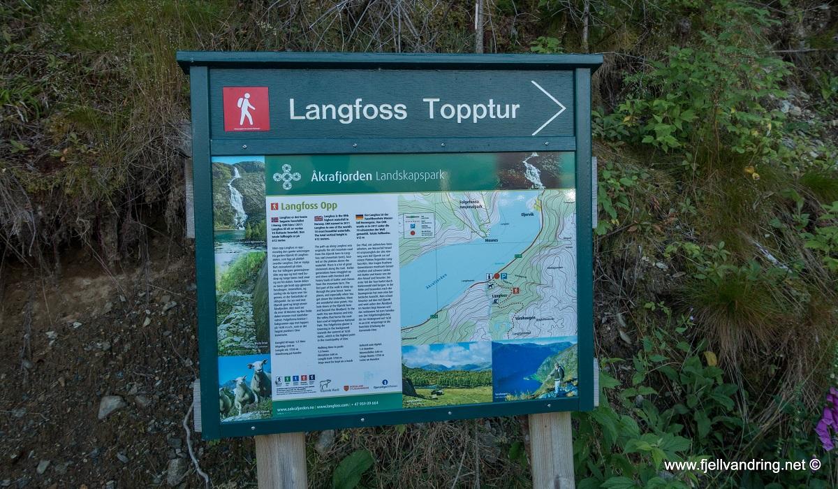 Langfoss - Tilrettelagt fottur