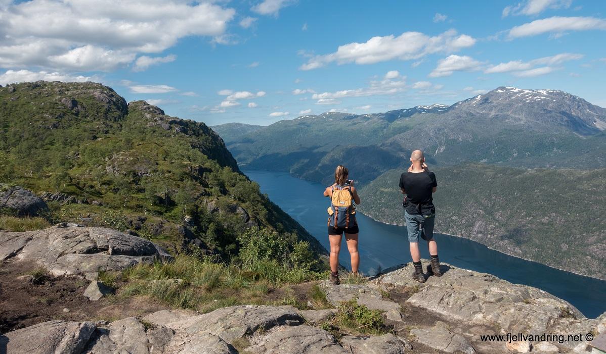 Langfoss - For en utsikt!