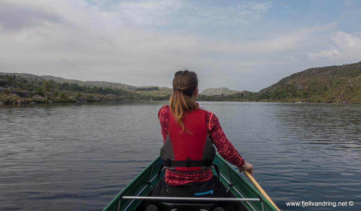 Lauvlia - Padletur over flere vann