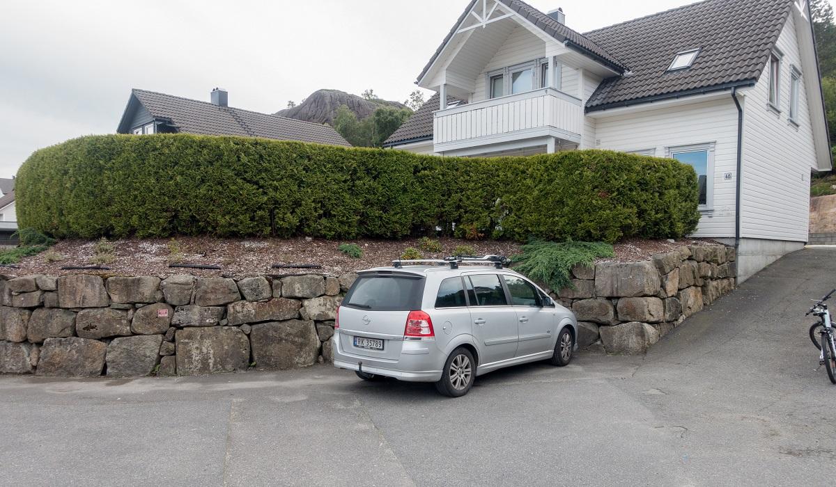 Lifjell - Parkering i Rådyrveien