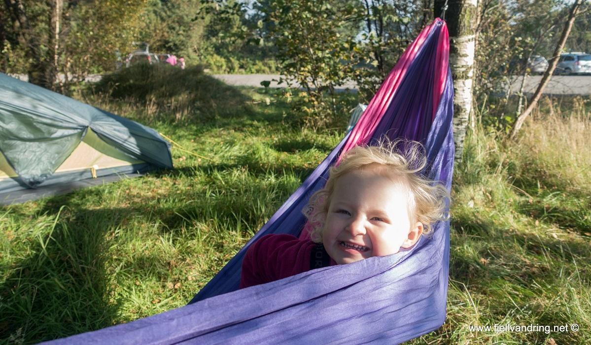 Melsvatnet - Lavterskel telttur for hele familien
