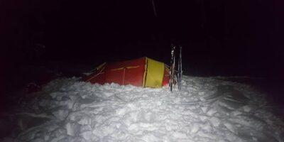Middalsbu Turisthytte - På skitur med pulk og telt