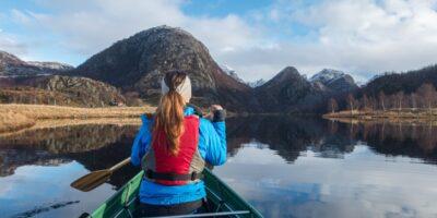 Mjåvatnet - Kanotur via Madlandsvatnet