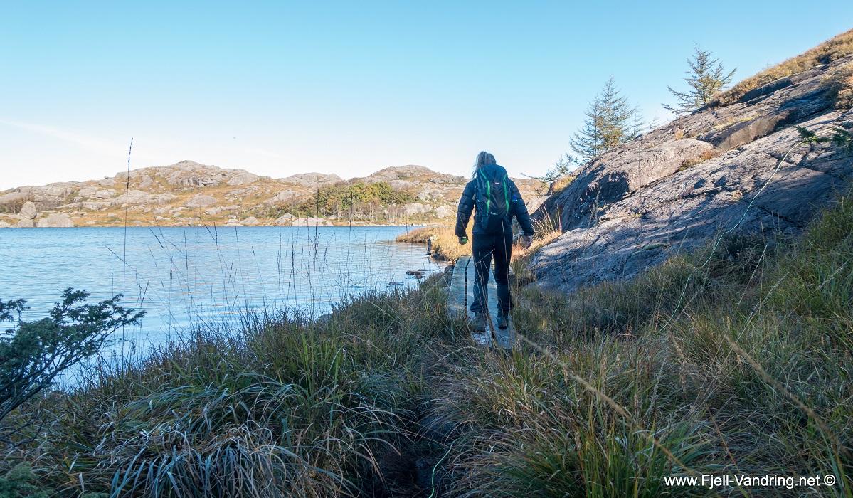 Musahålå - Kloppet sti langs Revtjørna