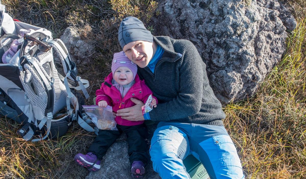 Musahålå - En kort rast i sola