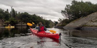 Nordra Krogavatnet - Idyllisk padletur fra Sirevåg