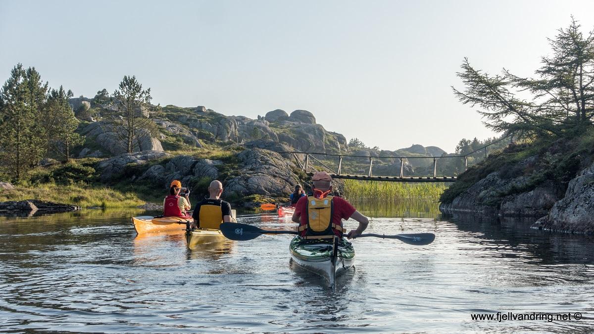 Nordra Krogavatnet - Idyllisk sted å padle