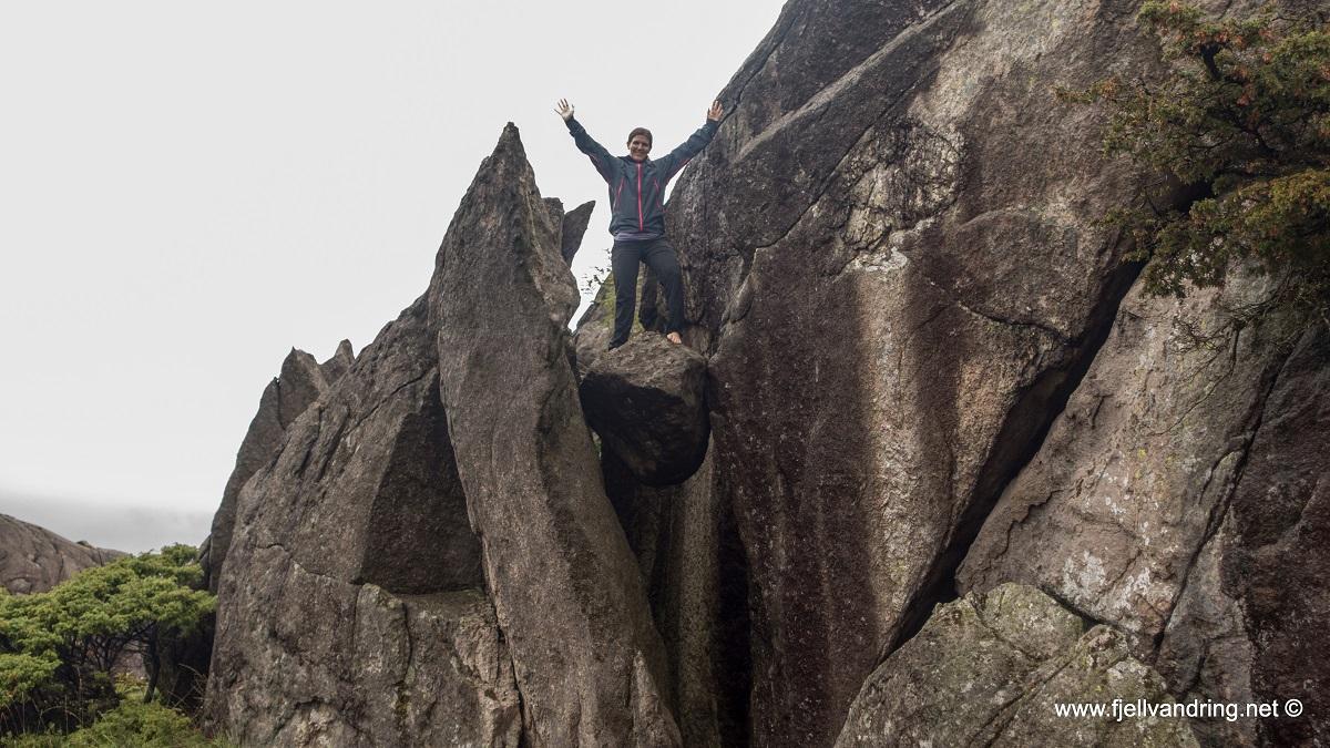 Nordra Krogavatnet - Vi finner en ny bolt i fjellsiden