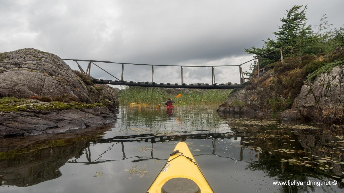 Nordra Krogavatnet - Padletur i idylliske omgivelser