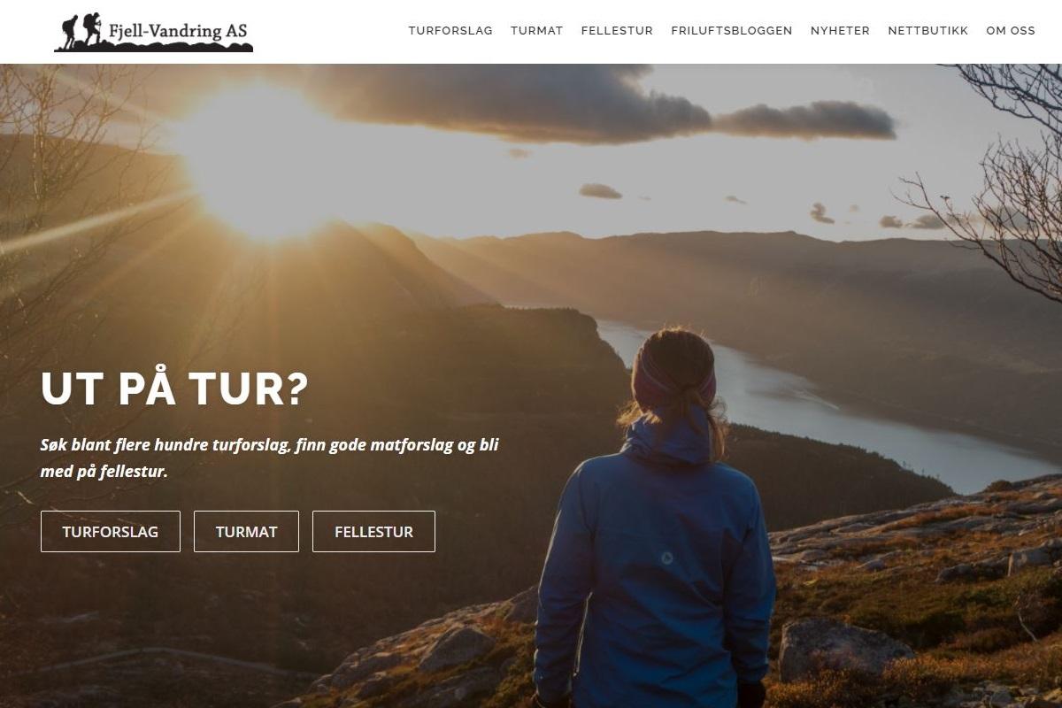 Ny hjemmeside i desember 2020