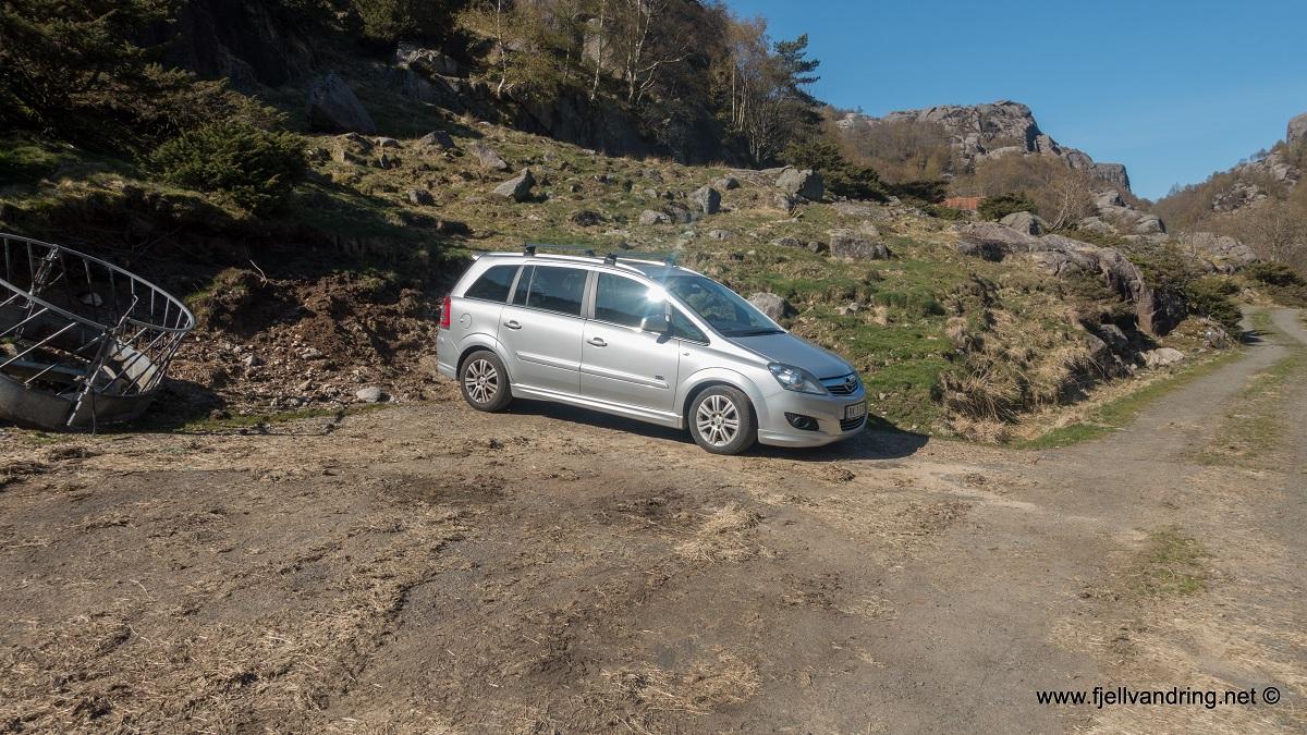 Opplev Dalane - Trasee 2 - Parkering på Nesvåg i Sokndal kommune