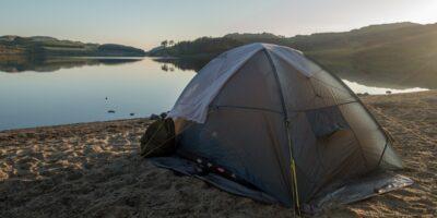 Oslandsvatnet - Lavterskel telttur på stranda