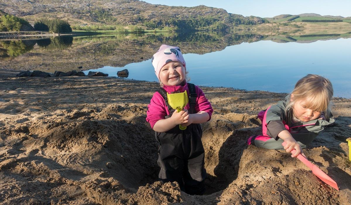 Oslandsvatnet - Lavterskel telttur