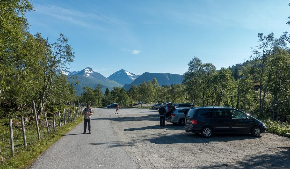 Romsdalseggen - Buss eller taxi til turstart