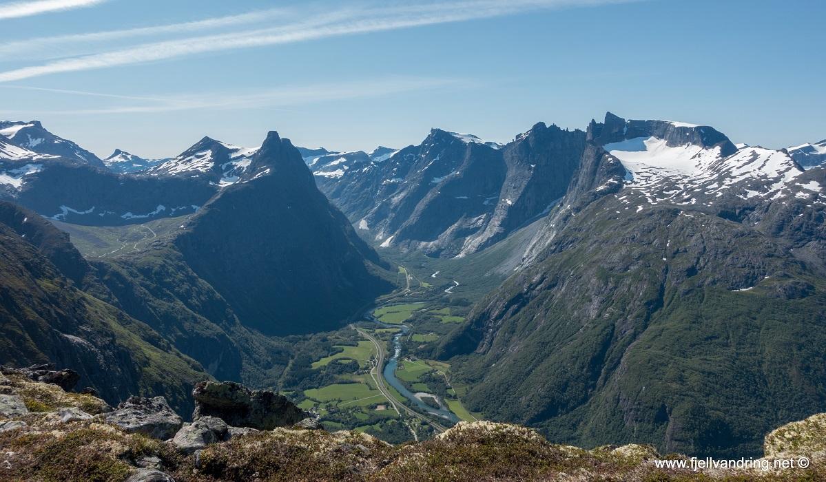 Romsdalseggen - Fra Venjesdalen til Åndalsnes