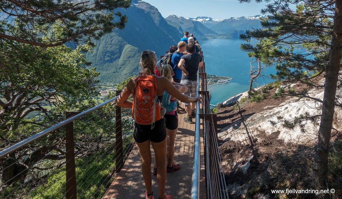 Romsdalseggen - Flere vil ut på Rampestreken