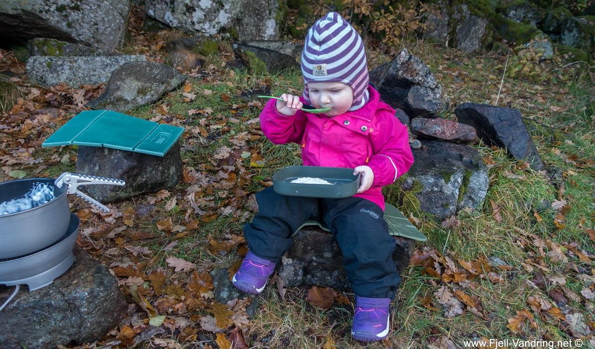 Sælandsskogen og Taksdalsvatnet - God grøt på tur