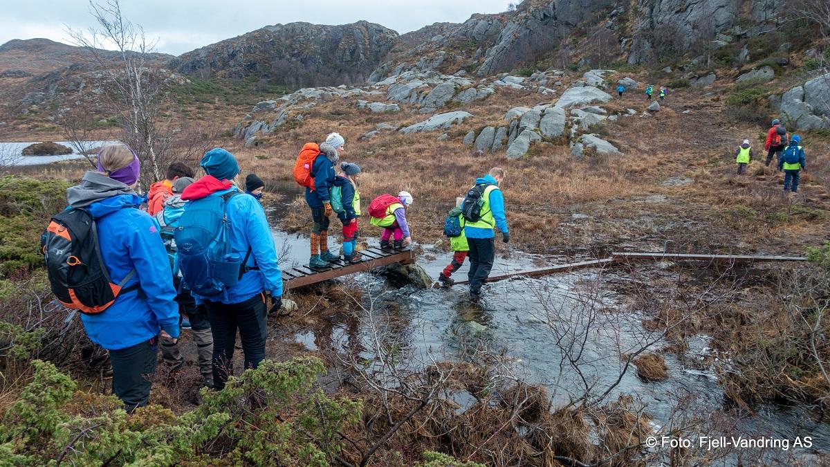 Barnas fellestur Januar 2020 - Topptur til Skårlandskula (Gjennomført)
