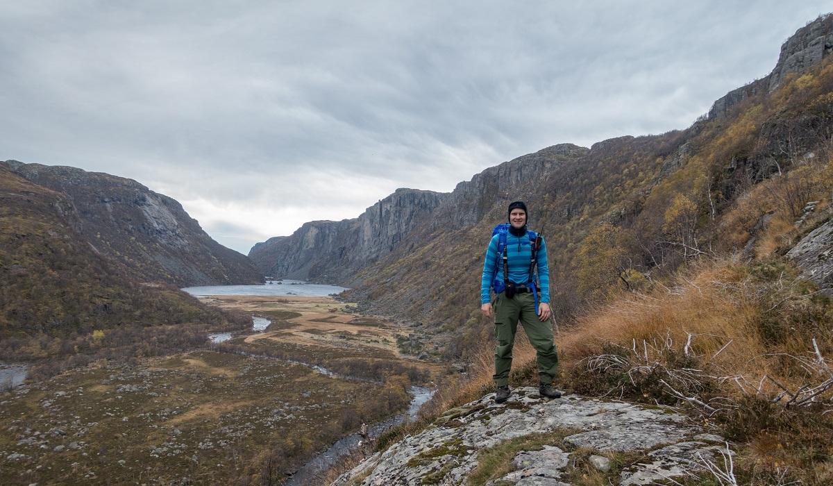 Stakken turisthytte - Utsikt utover Viglesdalen