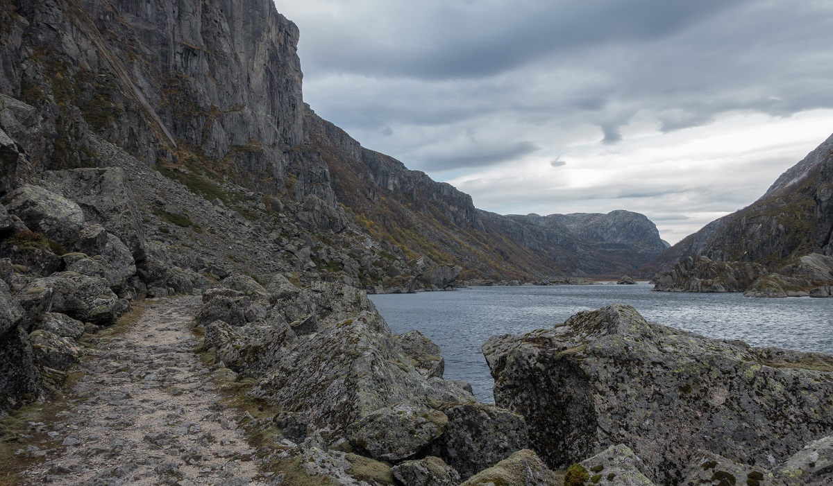Stakken turisthytte - Fottur inn til Viglesdalen