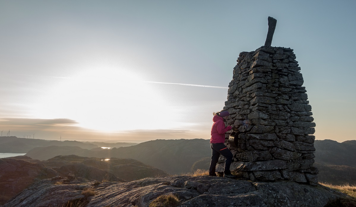 Støybingsvarden - Lettgått topptur med vid utsikt