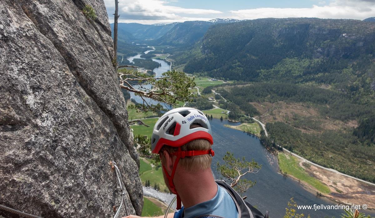 Straumsfjellet - Norges lengste Via Ferrata løype