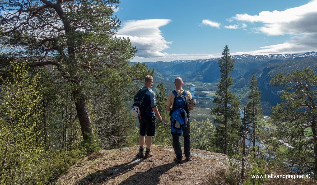 Via Ferrata Straumsfjellet - Turbeskrivelse